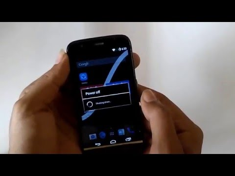 Going to Recovery/Fastboot (Moto G)