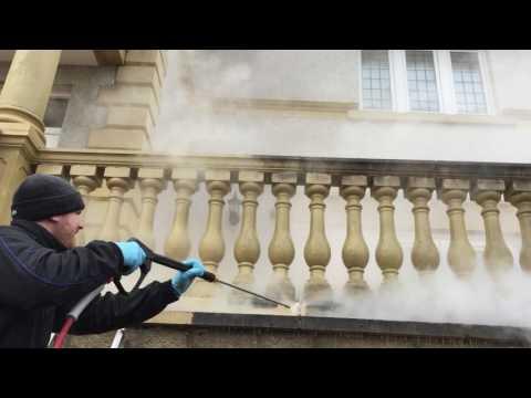 ECO DOFF Thermatech Steam Masonry Cleaning Edinburgh Scotland