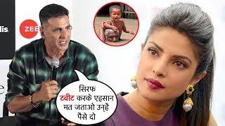 Akshay Kumar INSULTS Priyanka Chopra & Others Celebs 4 NOT Giving M0NEY to Asaam Flood survyvors