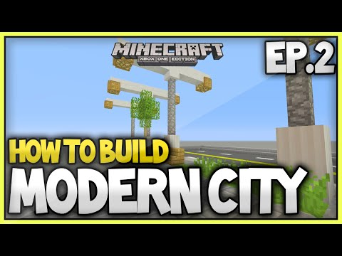 Minecraft Xbox - How To Build A Modern City (EP.2) - The Pavements