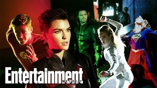 Arrowverse Reunion With Ruby Rose, Grant Gustin & More | Cover Shoot | Entertainment Weekly