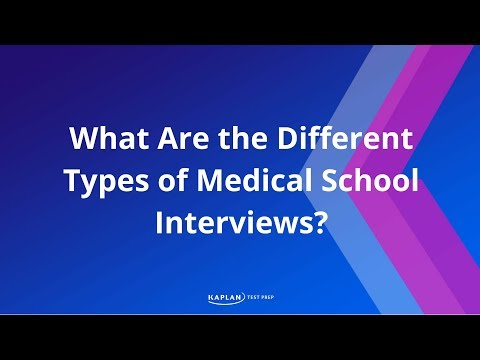 What Are The Different Types of Medical School Interviews?