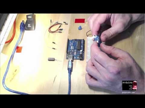 Arduino servo motor control, Part 1 of 2