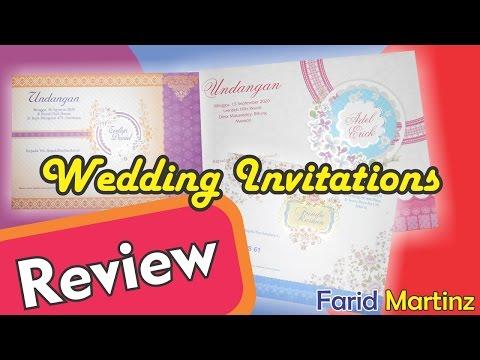 Creative Design - Wedding Invitations