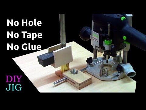Router Circle Jig without Centre Hole - DIY JIG
