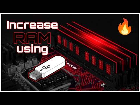 How To Increase R.A.M of Any PC / LAPTOP Using a USB Stick FOR FREE !!!