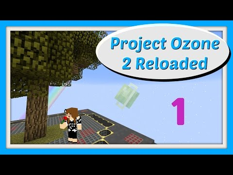 Smeltery and Rubber Saplings on Project Ozone 2 Ep1