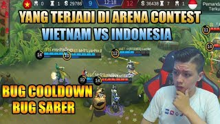 PENJELASAN CHEAT ARENA CONTEST  VIETNAM VS INDONESIA - MOBILE LEGEND