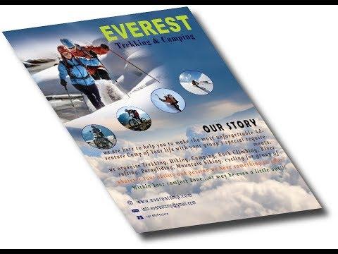 Travel Brochure in Photoshop cc| Tutorial...