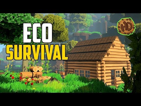 ECO Survival - The METEOR is coming!   PC Open World Survival Crafting