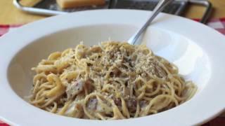 Food Wishes Recipes - Spaghetti alla Carbonara Recipe - Pasta Carbonara