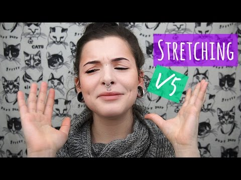 Ear Stretching (1 of 5) || How NOT to stretch your ears!!!