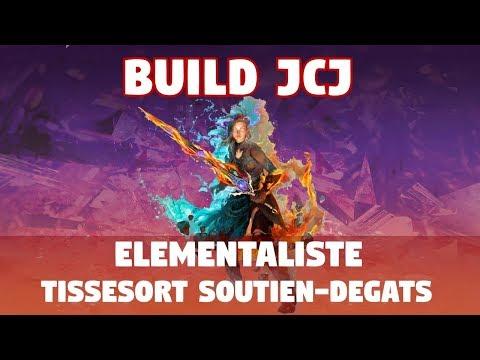 Guild Wars 2 [JCJ] Build Elementaliste Tissesort Soutien-Dégâts