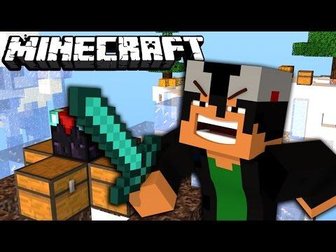 Minecraft PE - Hunger Games com NAMORADA e CUNHADO!