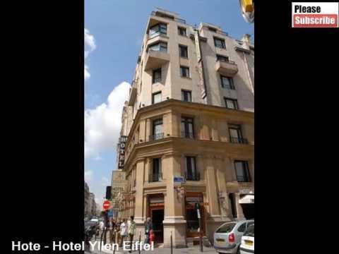 Best Paris Hotel Idea | Hotel Yllen Eiffel -Picture Collection And Info