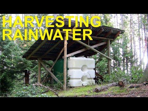 Rainwater Harvesting Off Grid