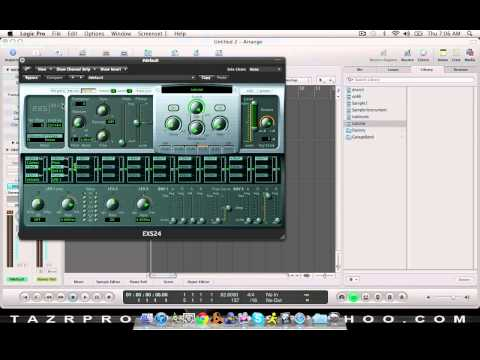 Logic for Beginners: How to sample in Logic pro 9