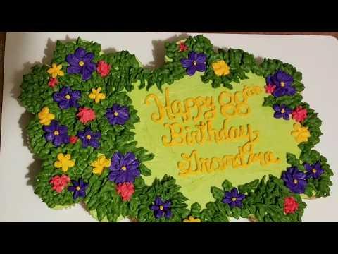 Cupcake Cake ~ Pull apart Cupcake Cake ~ Birthday Cupcake Cake