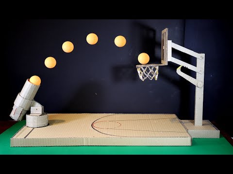[LXG247] How to Make a Basketball Game using Cardboard