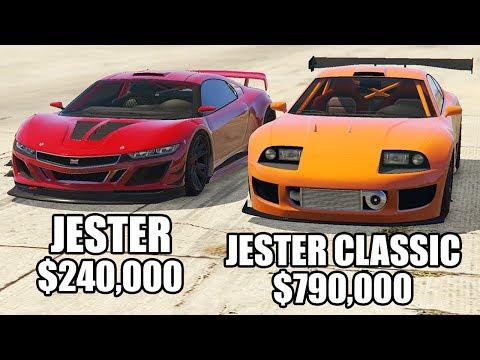 GTA 5 Online - JESTER vs JESTER CLASSIC! ($240,000 vs $790,000)