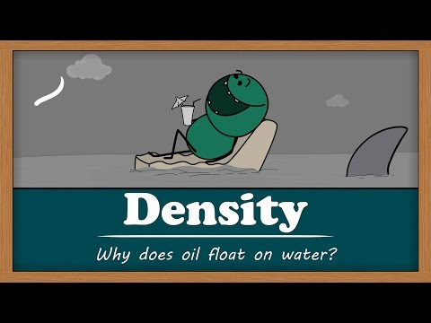 Density - Why does oil float on water? | Smart Learning for All