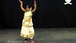 SiiconAndhra 2nd International Kuchipudi Dance Convention - Kuchipudi Thillana -  Maha Brinda Natyam