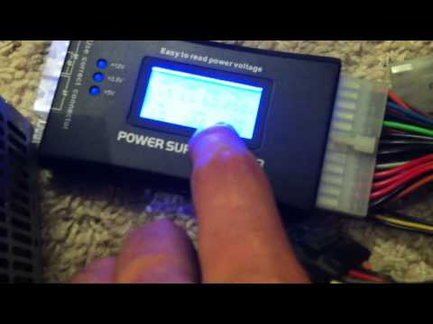 How to check your desktop power supply