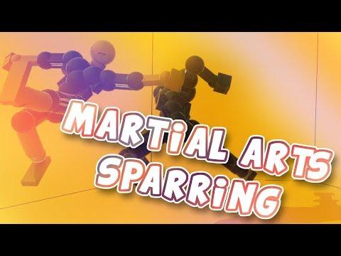 Martial Arts Sparring MAS | Toribash Montage