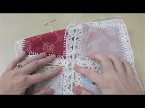 Crochet Quilt Tutorial - Part 4 (Joining Squares)