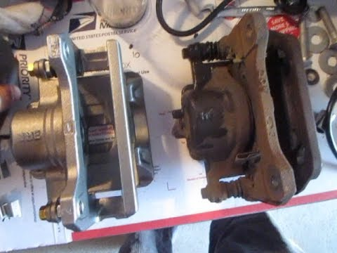 How to Replace Brake Calipers & Rotors Honda / Acura