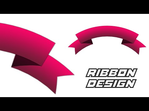 Photoshop Tutorial | How to make Ribbon