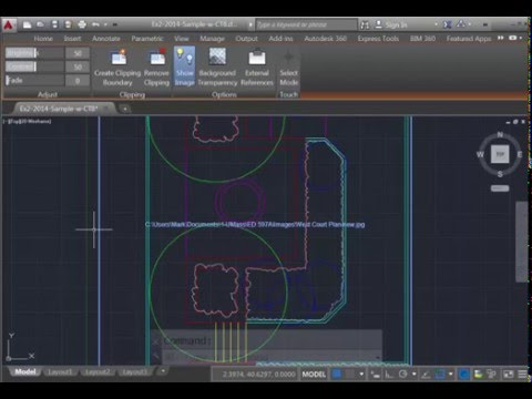 AutoCAD Reattach an image file - JPG or PDF