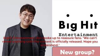 Download How did fans speculate on Bighit's new boy band's debut date and name Video
