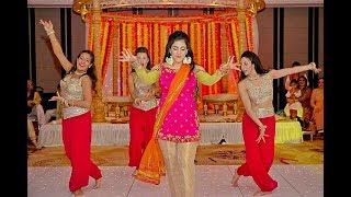 BOLLYWOOD WEDDING DANCE | BRIDES SURPRISE (MEHNDI) DANCE | MIRIAM SALIM