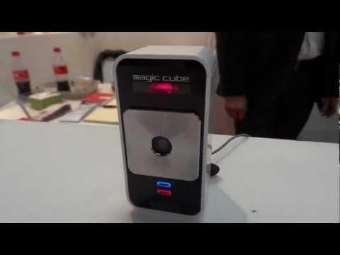 Magic Cube Laser keyboard on iPad 2 | pestaola.gr