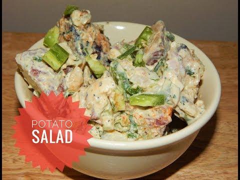 Grilled Potato Salad Recipe - Red Potato Salad - Potato Recipes