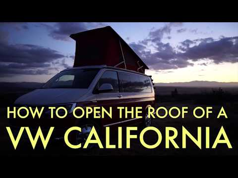 Raising the roof on a Volkswagen California