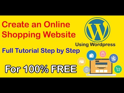 How to Create an Online Shopping Website For FREE on Wordpress || Create Online Store Without Skills