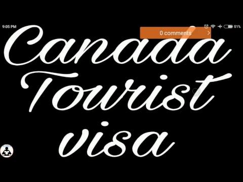 Canada Tourist visa live session