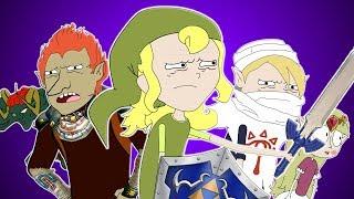 ♪ ZELDA: OCARINA OF TIME SONG - Animation Parody