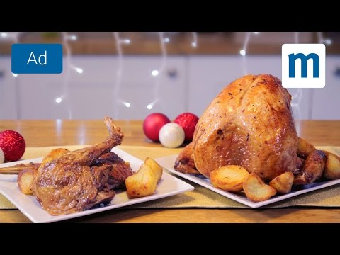 How to cook a turkey (so it doesn't become dry!) | Lidl School of Christmas