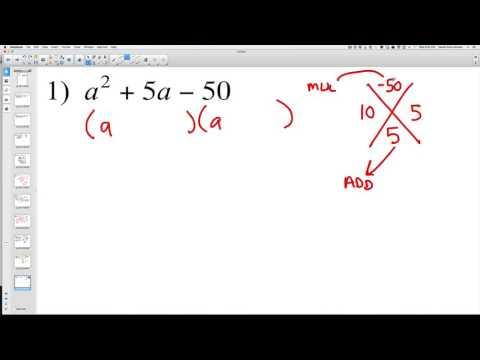 Solving Quadratic Expressions 1