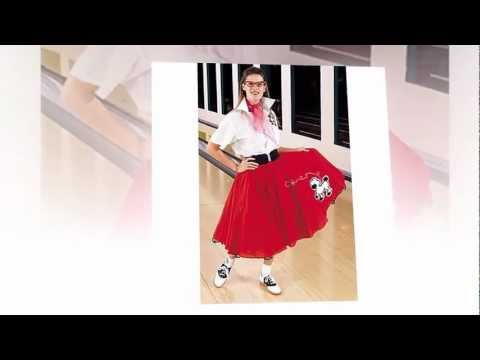 Poodle Skirt Costume | Ladies Poodle Skirt Costumes