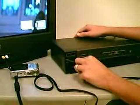 How To: Recording to VCR