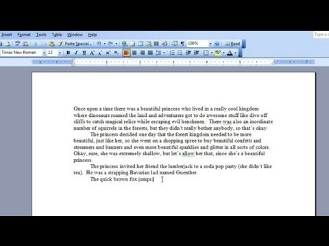 How to Undo a Delete on Microsoft Word : Microsoft Word & Excel
