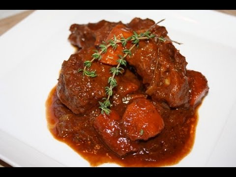 Oxtail Braised In Guinness.
