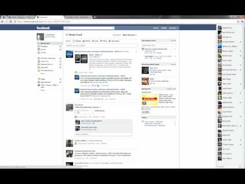 Installation of Facebook Applications NHS