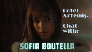 "Sofia Boutella on ""Hotel Artemis"" Drew Pearce first feature Film"