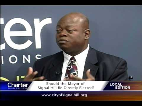 Charter Local Edition with Signal Hill Mayor Ed Wilson
