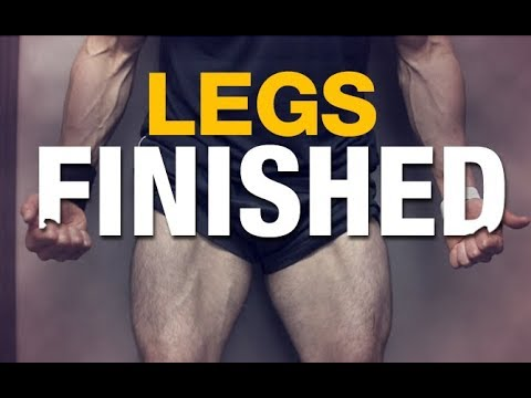 "Leg Workout ""Finisher"" (QUADS KILLED!!)"